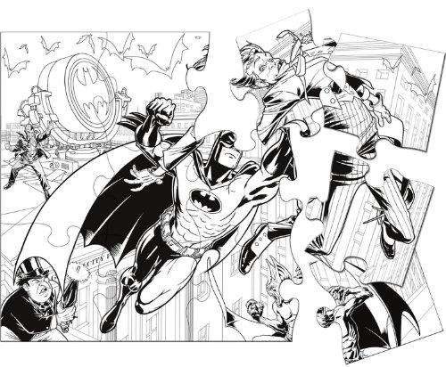 Batman Bold Party Activity - Each - 1