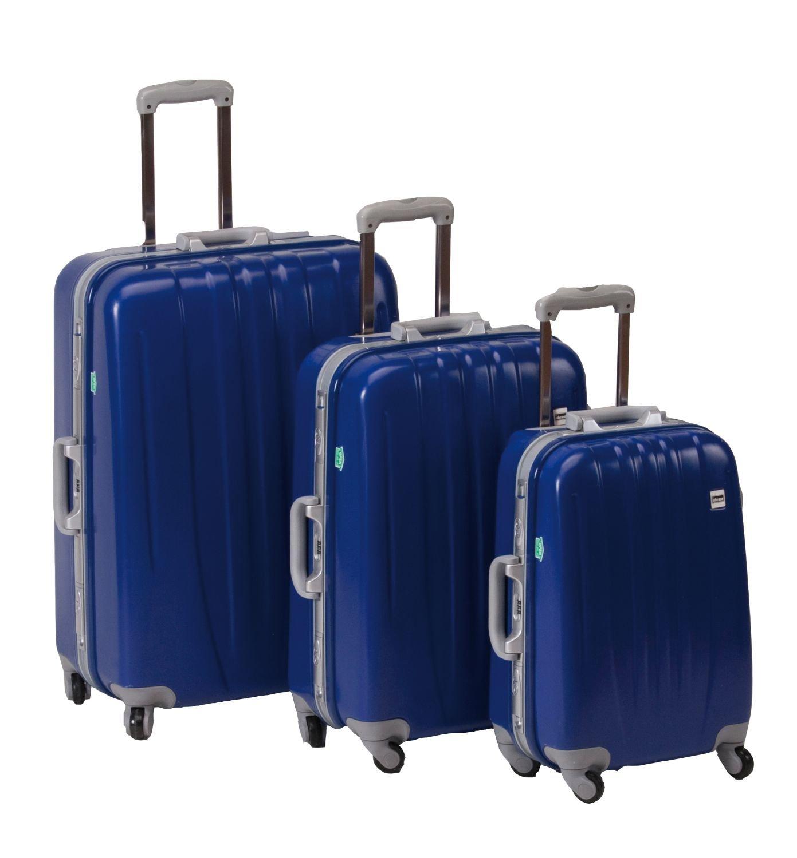 Idena 8960006 - Koffer- Set, 3- teilig, blau