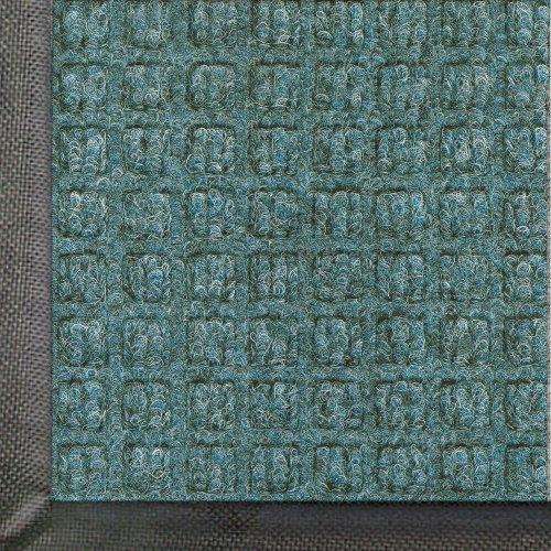 Andersen 200 Bluestone Polypropylene Waterhog Classic Entrance Mat, 4' Length X 3' Width, For Indoor/Outdoor front-618400