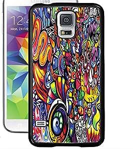 ColourCraft Graffiti Design Back Case Cover for SAMSUNG GALAXY S5 NEO