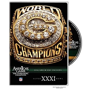 NFL Americas Game: Green Bay Packers Super Bowl XXXI from Warner Home Video