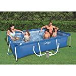 Intex 07800 Piscine Tubulaire Rectang...