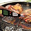 Instant Read Digital Meat Grill & Kitchen Thermometer -A Premium Barbecue Fork Tool Set - Perfect for: Beef Steaks, Chicken Poultry, Lamb, Pork and Turkey