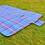 Extra Extra Large Blue Picnic Blanket...