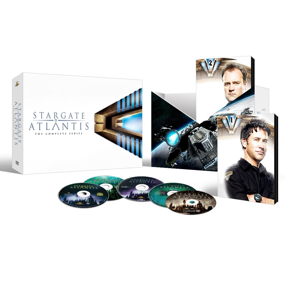 Today only   Save up to 85% off Stargate Atlantis: The Complete Collection on DVD and Blu ray!