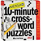Mensa 10-Minute Crossword Puzzles 2013 Page-A-Day Calendar