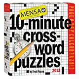 img - for Mensa 10-Minute Crossword Puzzles 2013 Page-A-Day Calendar book / textbook / text book