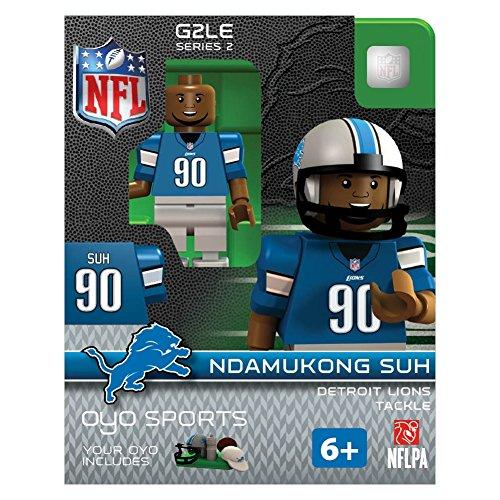 NFL Oyo Sports Detroit Lions Ndamukong Suh Series 2 Minifigure