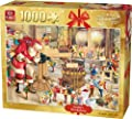 King 1000 Piece Santa's Workshop Christmas Jigsaw Puzzle