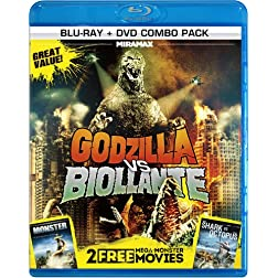 3 Mega-Monster Movies [Blu-ray]