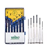 Whoho - 6 Pcs Mini Precision Screwdriver Set, Perfect Portable Repair Tool, 6 Different Sizes of Flat Head and Phillips, Suitable for DIY Projects, Gl
