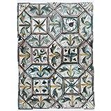 42 Tiles forming a Panel (V&A Custom Print)