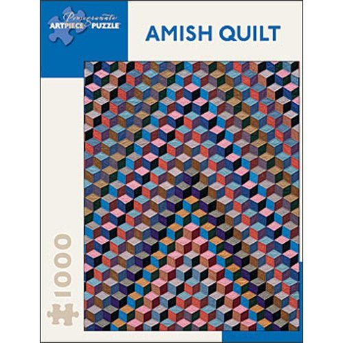 Amish Quilt: Tumbling Blocks jigsaw puzzle