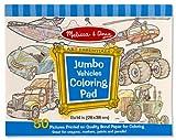 Melissa and Doug Jumbo Coloring Pad Vehicles - Rs.820.00 @ AMAZON