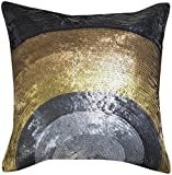 Jonathan Adler Nico Metallic Sunrise Pillow