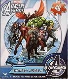 Avengers Logo Shaped Puzzle