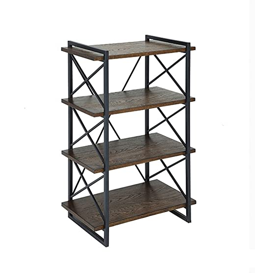 Book Jia librerie Loft retrò in legno massello in legno scaffali / soggiorno camera da letto piano multi-storey pensili scaffali