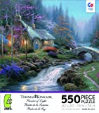 Thomas Kinkade Twilight Cottage Jigsaw P...