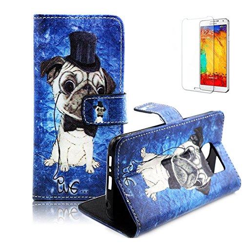 Portable Coque Etui pour Samsung Galaxy S6,Funyye Coque de Protection en Cuir Folio Housse Leather Case Wallet Flip Protective Cover pour Samsung