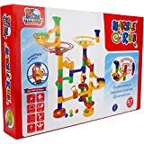 FLYING START Marble Run STEM Toy 53 Pcs Educational Construction Set For Kids Ages 4+