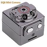 UTP SQ8 Mini Car DVR Camera HD 1080P Camera Night Vision Mini Motion Detection Camcorder Class 10 Video Recorder Micro Car Camera