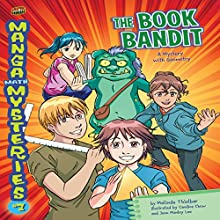 The Book Bandit: A Mystery with Geometry Audiobook by Melinda Thielbar Narrated by  Book Buddy Digital Media