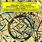 Philip Glass: Concerto For Violin And Orchestra / Alfred Schnittke: Concerto Grosso No. 5