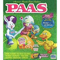 [Best price] Arts & Crafts - Paas Classic Egg Decorating Kit With 3 Bonus Neon Dye Colors - toys-games