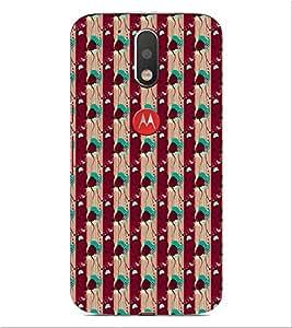 ifasho Designer Phone Back Case Cover Motorola Moto G4 :: Moto G (4th Gen) ( Astronaut Space Man Flying Chilling )