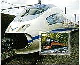 Tren sellos para coleccionistas - Trenes y locomotoras - 1 sellos de colección que ofrece trenes - Ideal para la recogida - excelentes condiciones - sin charnela
