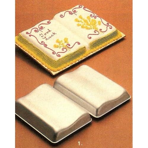 Open Book Cake Pan