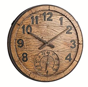 gloucester outdoor wall clock with