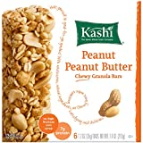 Kashi TLC Chewy Granola Bar, Peanut Peanut Butter, 1.2oz 6-Count Bars(Pack of 6)