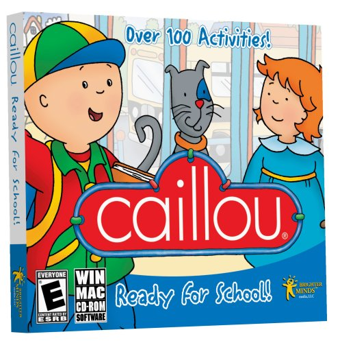 Caillou Ready for School JC [Old Version] - 1