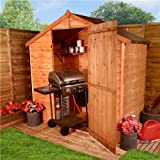 BillyOh 3'x6' Windowless Rustic Overlap Wooden Shed