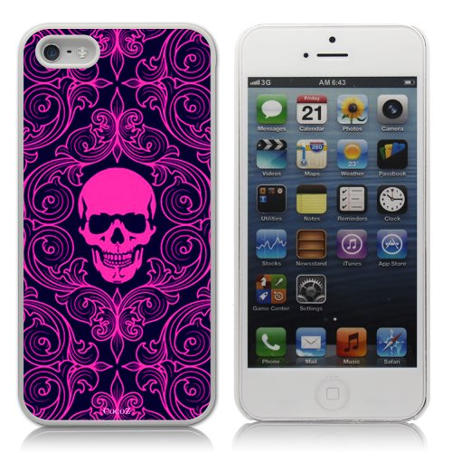 Review:  Cocoz®iphone5 Zombie Hands Fashion Design Hard Case Cover Skin Protector for Iphone 5 At&t Sprint Verizon Retail Packing(white Pc+pearlescent Aluminum)-k008