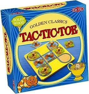 Tactic - 14017- Jeu Classique - Golden Classics : Tac Tic Toe