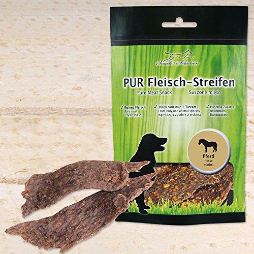 Pferdefleisch pur 100g aus ca. 500g Reinem Muskelfleisch hergestellt ohne irgendwelche Zusätze von nur einer Tierart Sauber, leicht teilbar