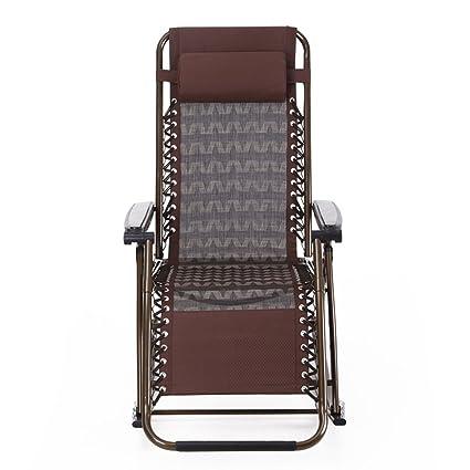 Sillas y sillas Balcones Silla feliz Silla plegable para adultos Casual mujeres embarazadas ancianos silla