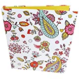 "bloom daily planners Binder (+) 3 Ring Binder (+) 1 Inch Ring (+) 10"" x 11.5"" Inches - Hearts Design ~ bloom daily planners"