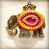 Beautiful Elephant KumKum Box- Wooden