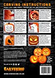 from CarveKing 2016 Pumpkin Carving Kit with 12 Designs and 5 Tools