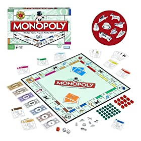 Monopoly is an evergreen family classic. Click for our Monopoly Games HQ!