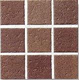 アースフロア 100角 赤茶 テラコッタ調(磁器 タイル)シート(9枚)販売です内床(ベランダ・テラス・土間) 外床(玄関 ポーチ・ガーデニング・駐車場)壁 のDIYリフォームにお勧め。 防滑・洋風建築の建材(エクステリア用)です。