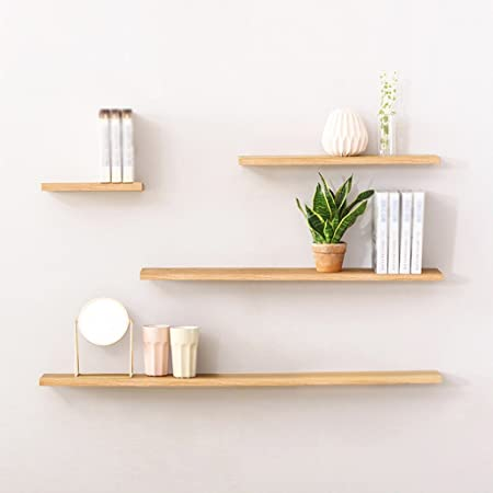 Rack, Partition Shelf Partition Madera maciza En la pared moderna Simple Cuatro conjuntos