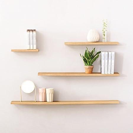 Rack, Partition Shelf Partition Madera maciza En la pared moderna Simple Cuatro conjuntos