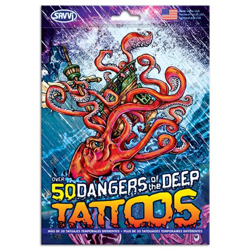 Over 50 Assorted Temporary Tattoos; Fun for any occasion!