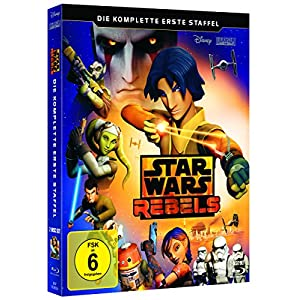 Star Wars Rebels - 1. Staffel [Blu-ray] [Import anglais]