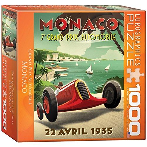 Monaco Grand Prix Puzzle, 1000-Piece