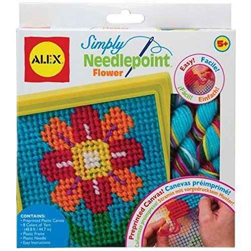 ALEX Toys Craft Simply Needlepoint Flower - 1